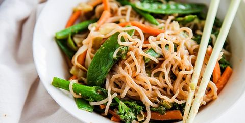 Shirataki Noodles with Almond Butter