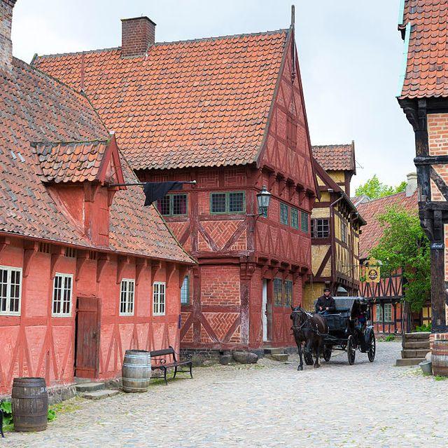 den gamle by folk museum, aarhus, denmark