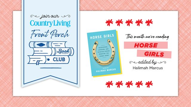 country living book club horse girls by halimah marcus