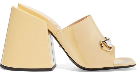Gucci Horsebit-detail leather mules
