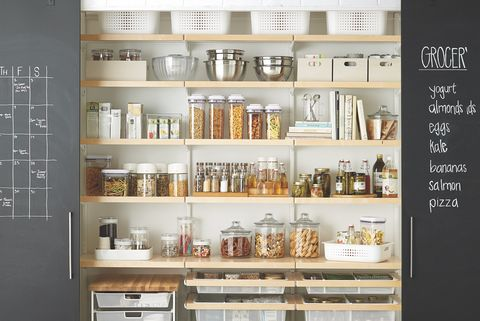 Shelf, Shelving, Furniture, Product, Room, Building, Cabinetry, Interior design, Pantry,