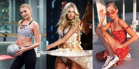 Fashion model, Clothing, Leg, Fashion, Footwear, Blond, Model, Dress, Thigh, Shoe,