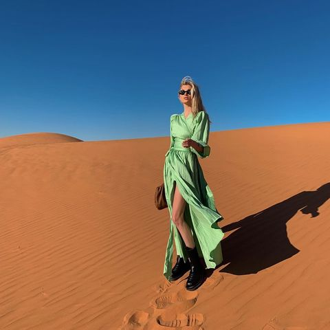 Desert, Sand, Aeolian landform, Erg, Natural environment, Sahara, Dune, Landscape, Sky, Singing sand,
