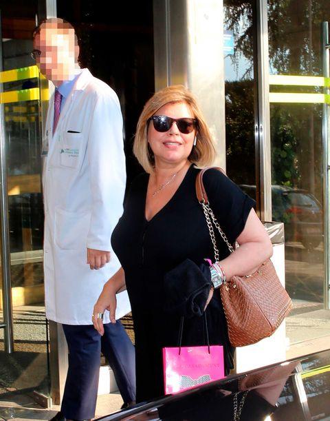 a7a7164329 Terelu Campos ingresa para ser operada - Terelu Campos operada cáncer