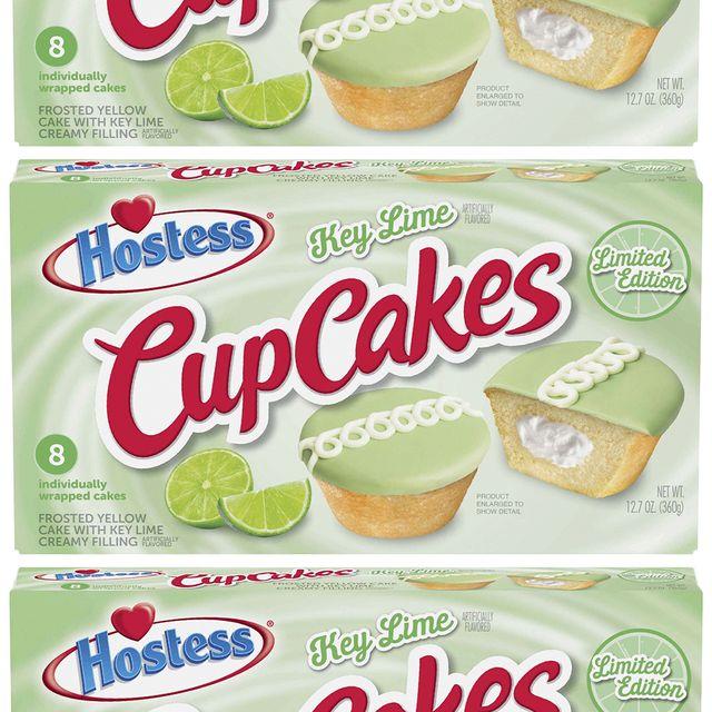 hostess key lime cupcakes