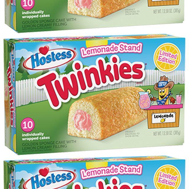 hostess twinkies lemonade stand cakes