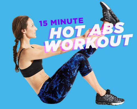 15-Minute Hot Abs Workout