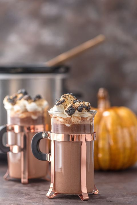 hot chocolate recipes slow cooker