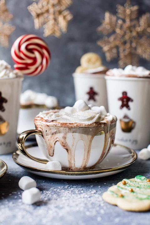 hot chocolate recipes sugar cookie