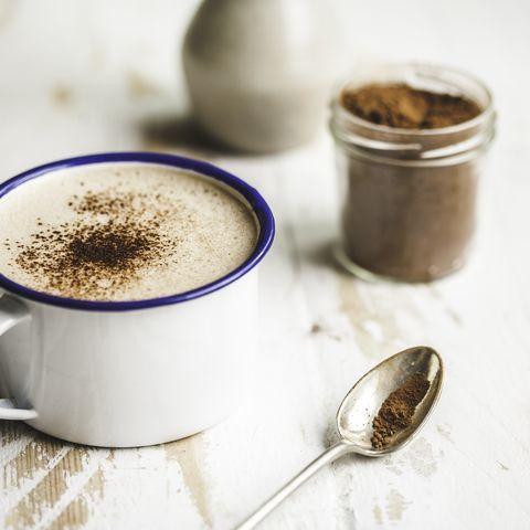 Hot Chocolate Still Life Close Up