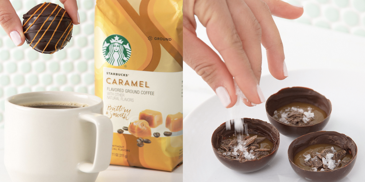 Starbucks Shared A Caramel Coffee Bomb Recipe That Uses Their At-Home Products