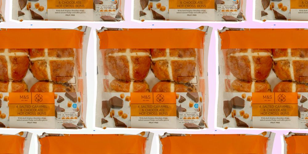 Marks & Spencer's Salted Caramel Hot Cross Buns are a big yes from us