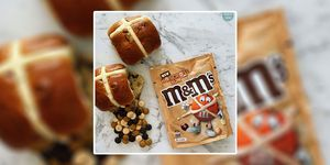 Hot Cross Bun M&Ms