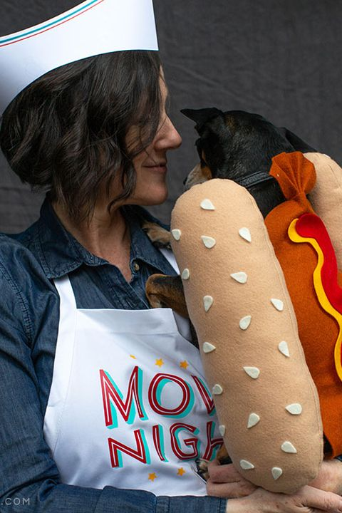 hot dog costumes with dogs