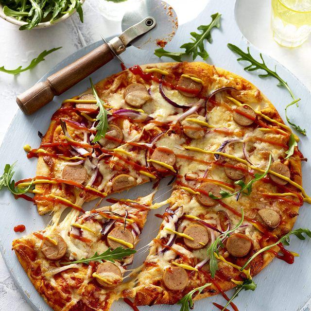 asda hot dog pizza