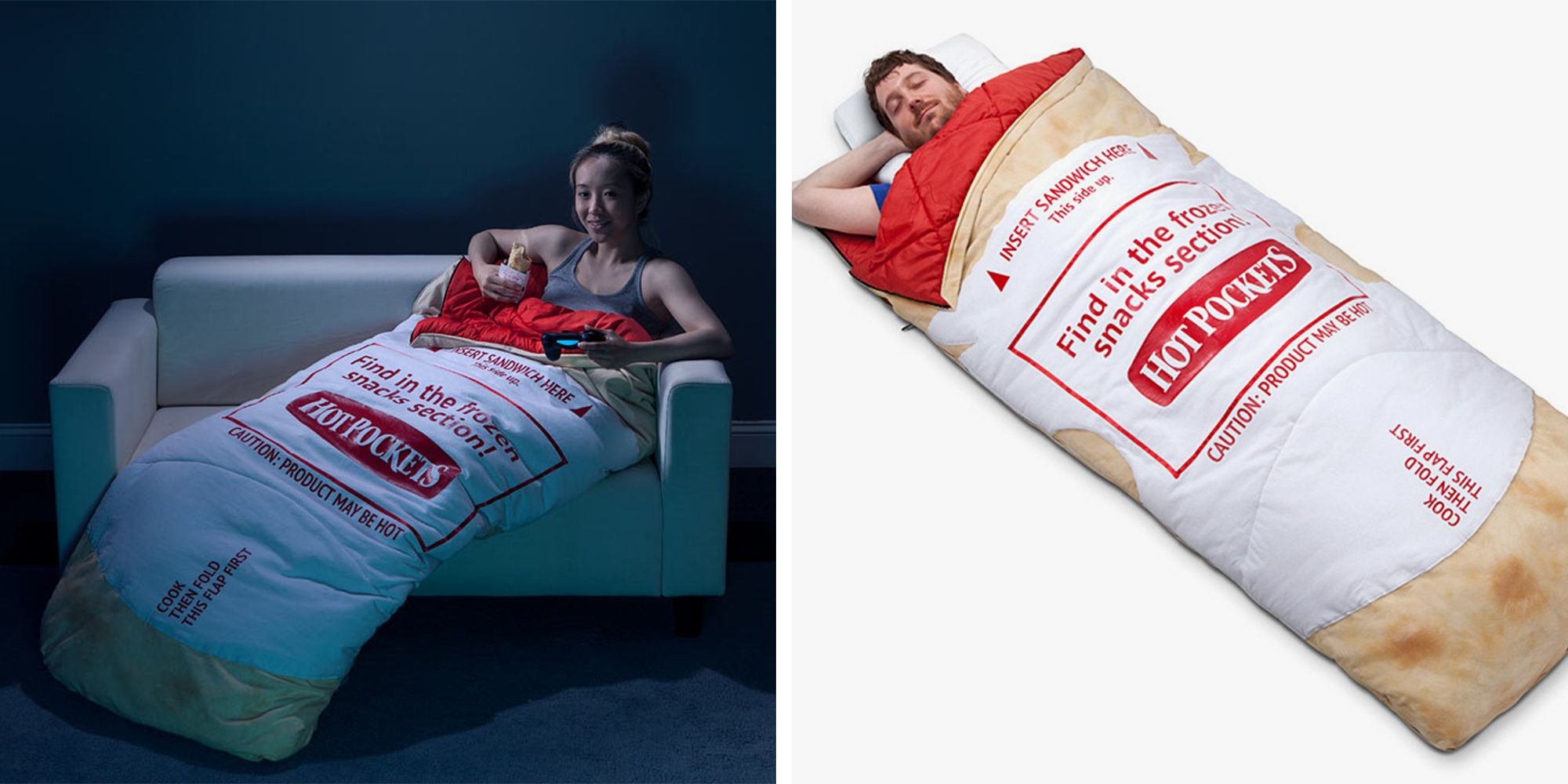 the best attitude 737c1 fe435 Become a Human Hot Pocket in This Toasty Sleeping Bag