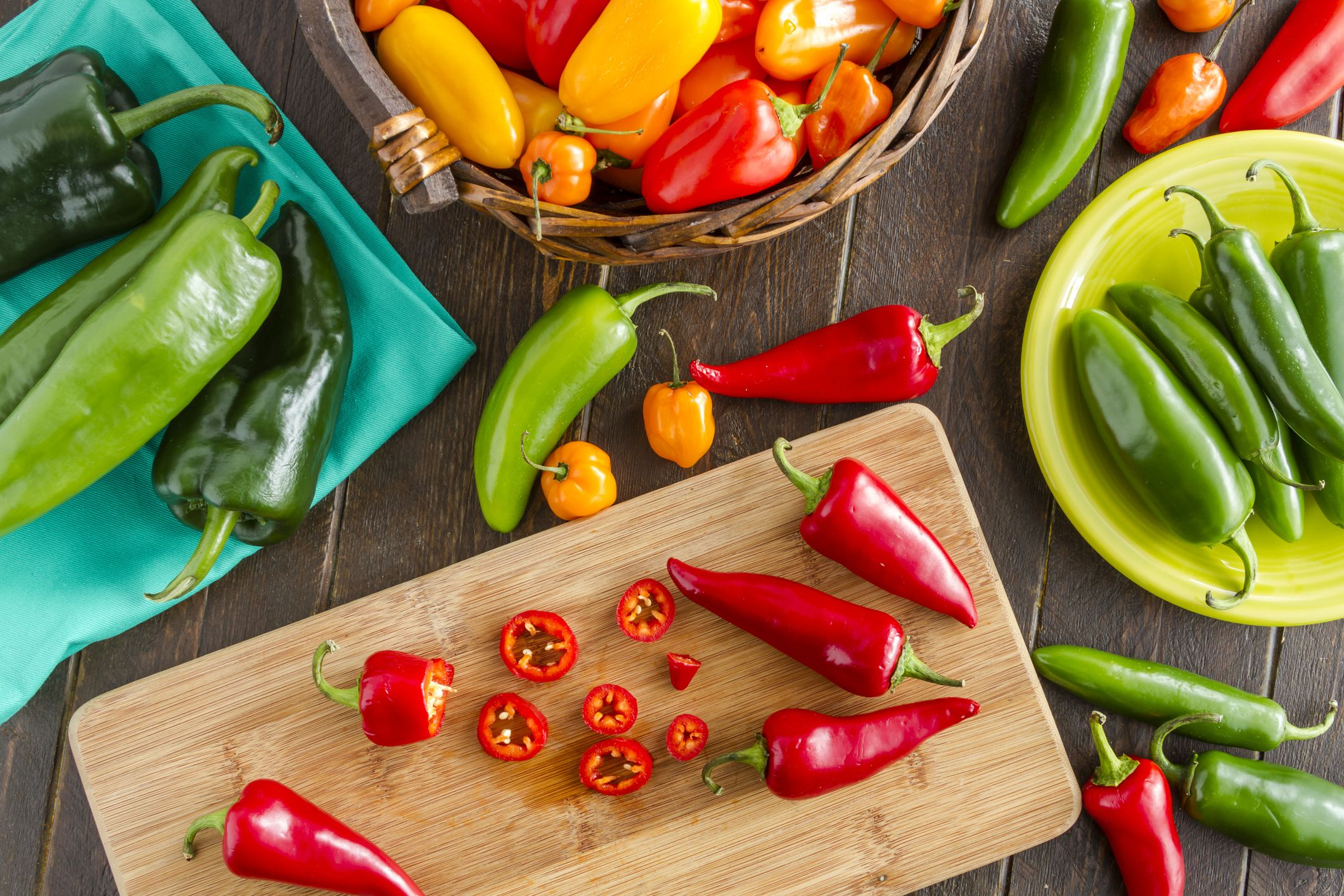 Types of Peppers - 10 Different Kinds of Peppers and Their Uses