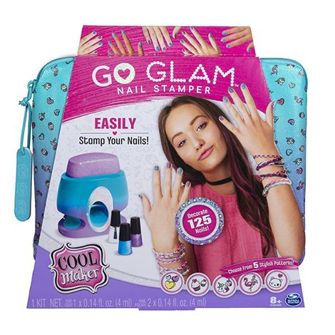 Fun Things to Do at a Sleepover - Spin Master Cool Maker Go Glam Nail Stamper