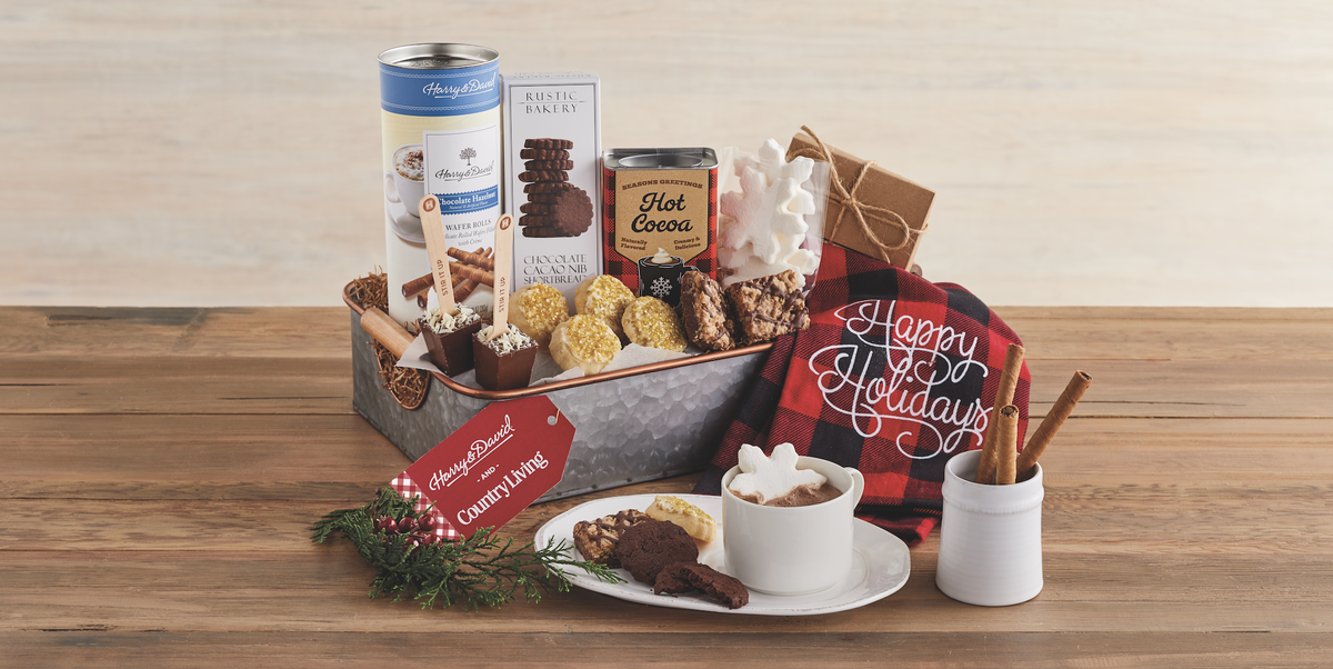 Holiday Gift Baskets And Seasonal Gifts Harry David And Country Living Collaboration