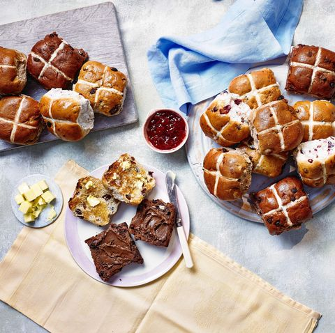 Lidl is launching the ultimate hot cross bun for chocolate lovers this Easter