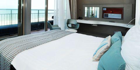 hotel aan strand, hotel Golfzang, Egmond aan Zee