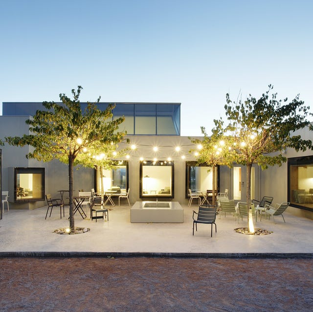 Property, Building, House, Home, Architecture, Real estate, Facade, Estate, Interior design, Courtyard,