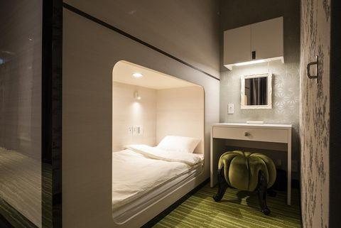 Hotel cápsula Albida Aoyama