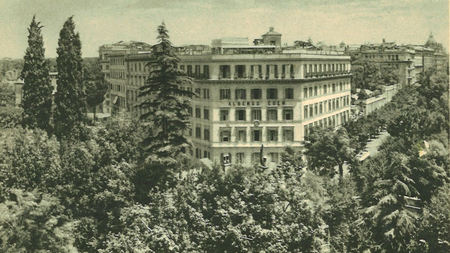 130 Years of History in a Roman Hotel