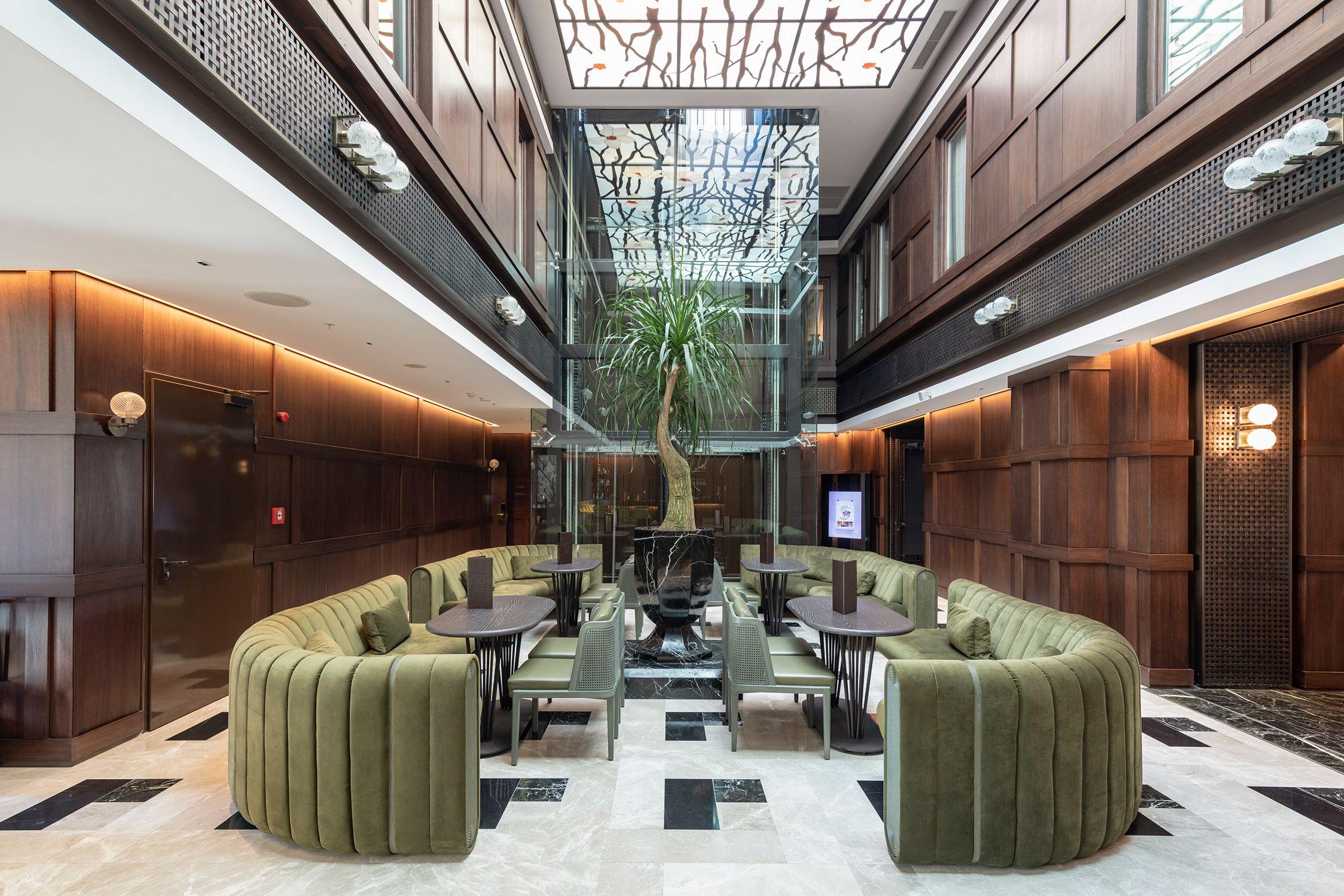 Un hotel en Estambul que reinterpreta el lujo otomano