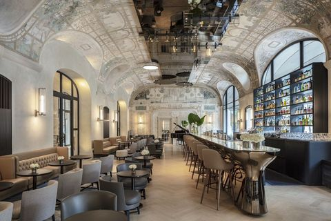 Joséphine bar in Hotel Lutetia, Paris