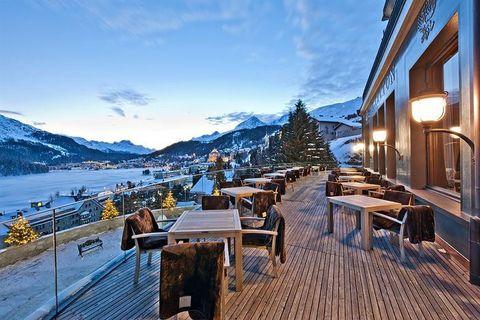 Hotel nieve Carlton St. Moritz