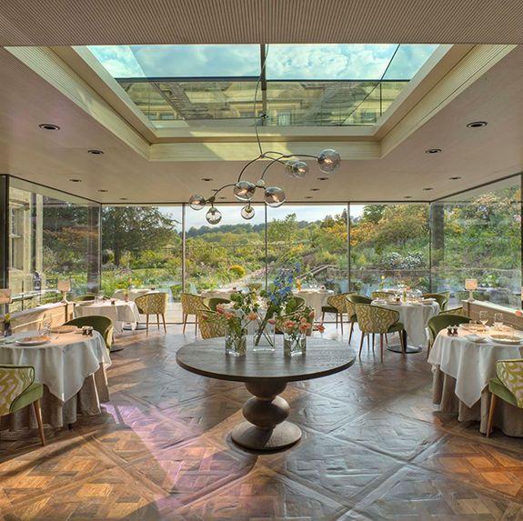 best hotel restaurants in the uk