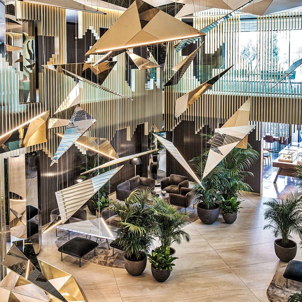 Hall del Hotel SOFIA en Barcelona