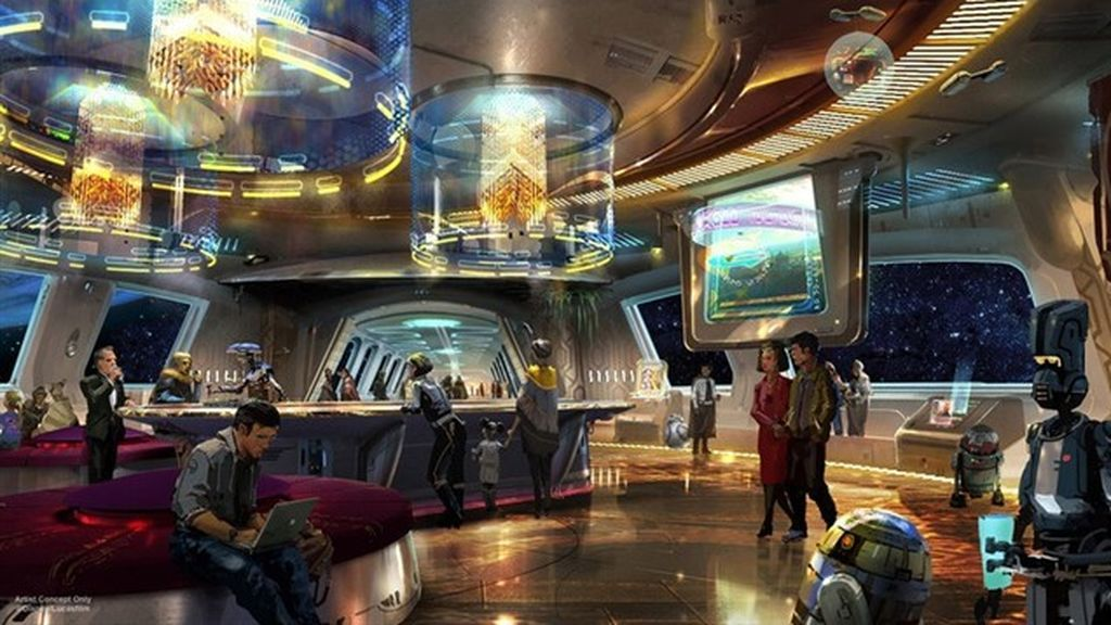El hotel de 'Star Wars' abrirá sus puertas el próximo otoño