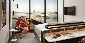 Hotel TWA en el aeropuerto de JFK