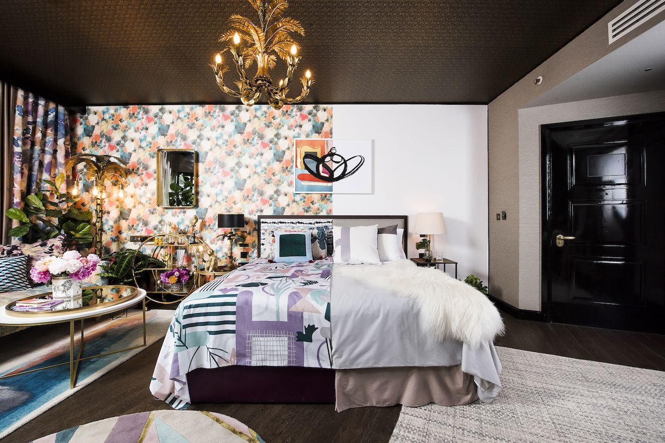 Hotels.com Has Created The First-Ever Half Maximalist, Half Minimalist Hotel Suite