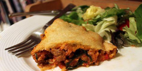 Food, Dishware, Leaf vegetable, Tableware, Dish, Ingredient, Plate, Serveware, Cuisine, Recipe,