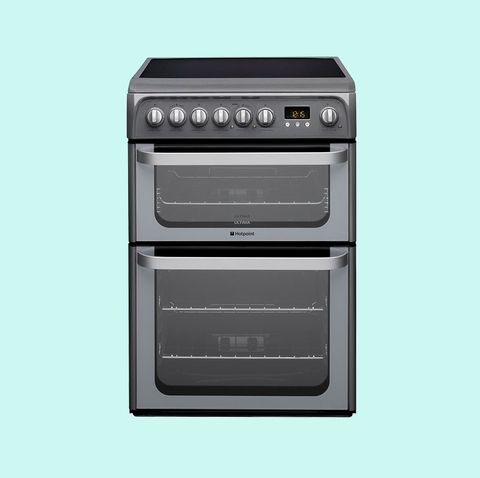 Hotpoint Ultima HUE61GS Ceramic Electric Double Oven