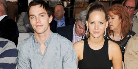 "Nicholas Hoult says ex-girlfriend Jennifer Lawrence is like ""family"""