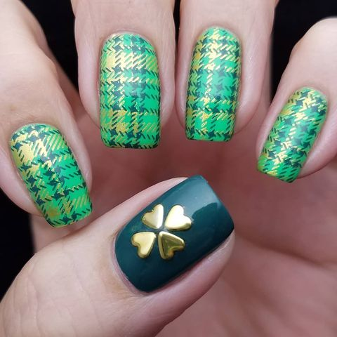 St. Patrick's Day Nail Designs