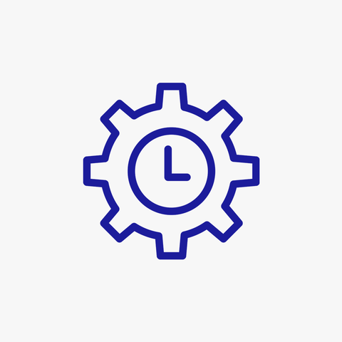 testing criteria: hours in-house testing