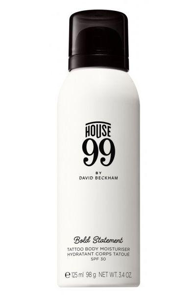 crema hidratante tatuajes de House 99 de David Beckham