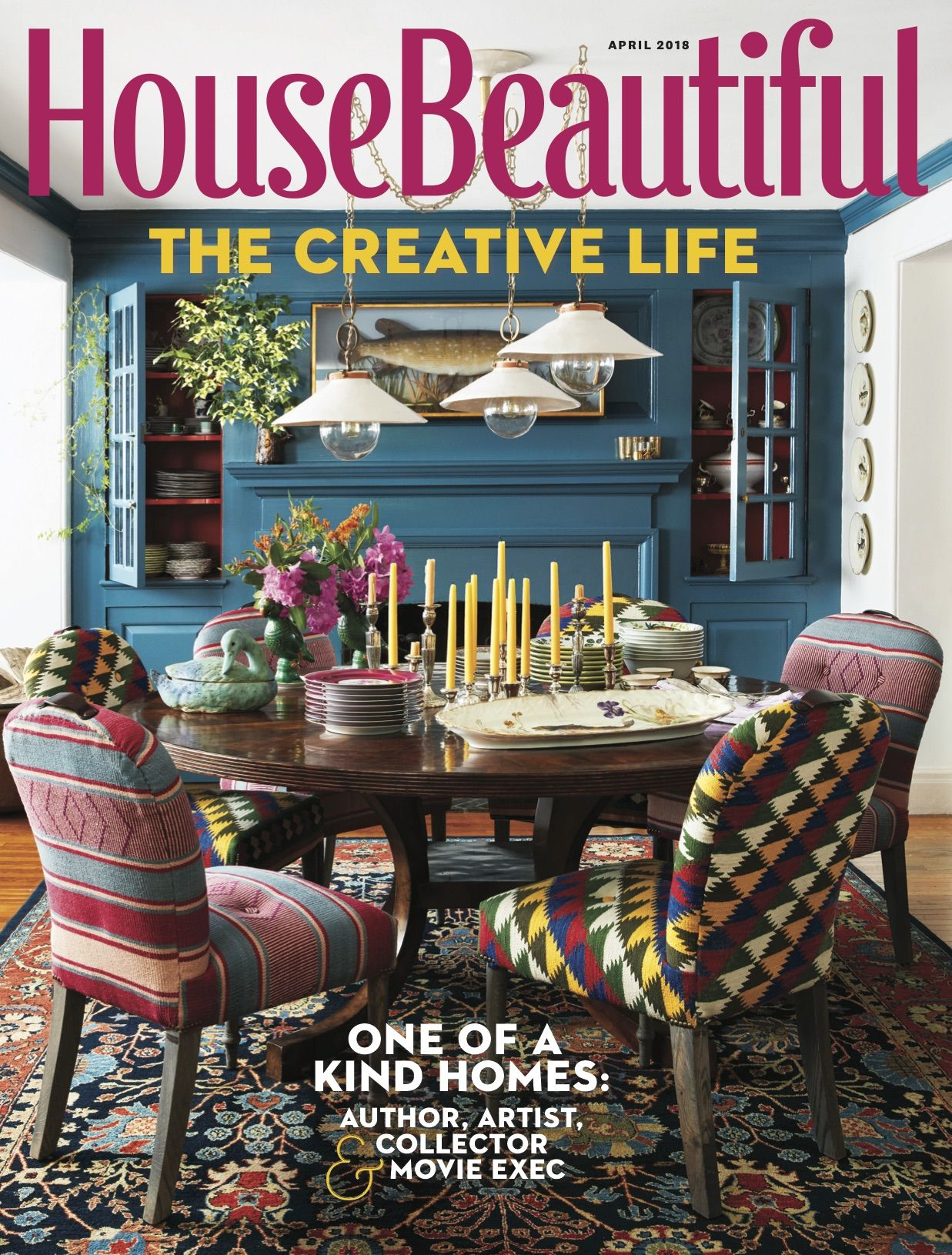 House Beautiful April 2018