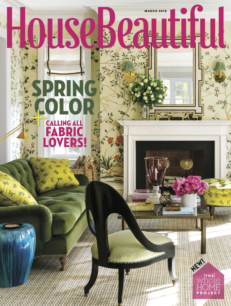 house beautiful march 2018 - Home And House Magazine