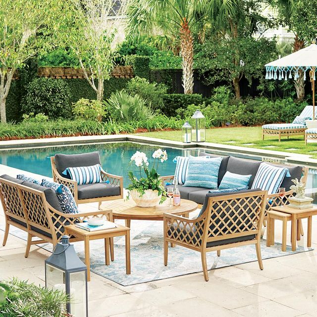 house beautiful frontgate collection outdoor furniture
