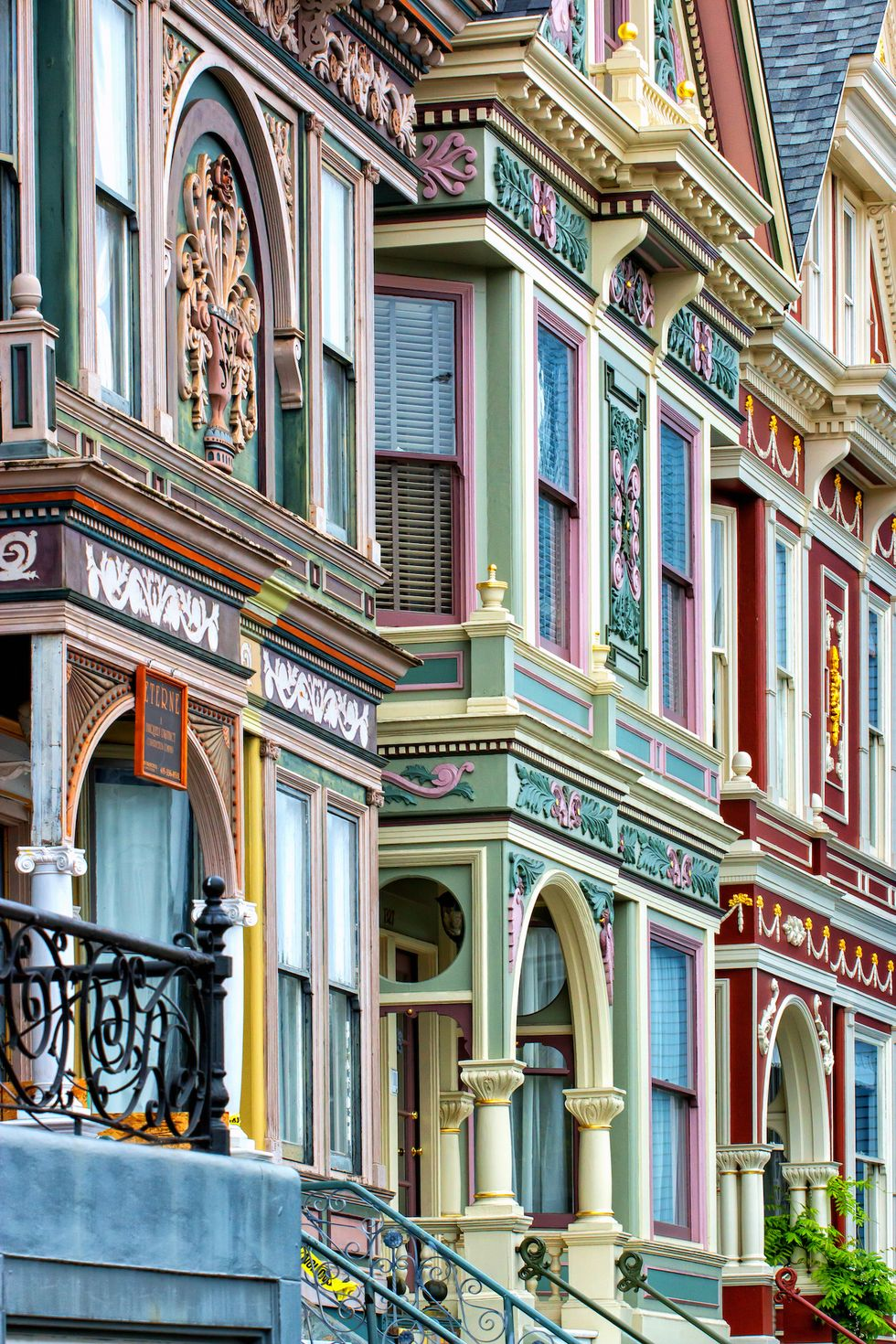 Decorative Victorian House in San Francisco