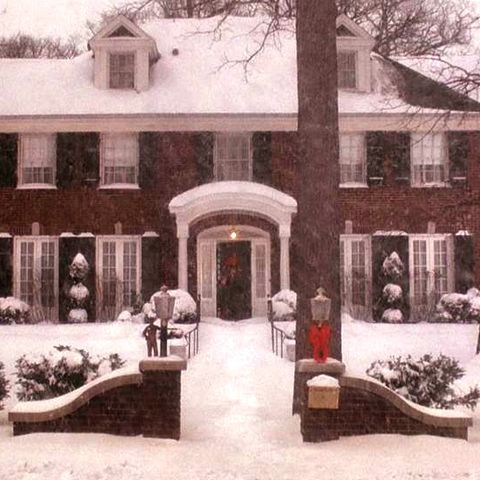 Snow, Home, Property, House, Winter, Building, Estate, North american fraternity and sorority housing, Tree, Architecture,