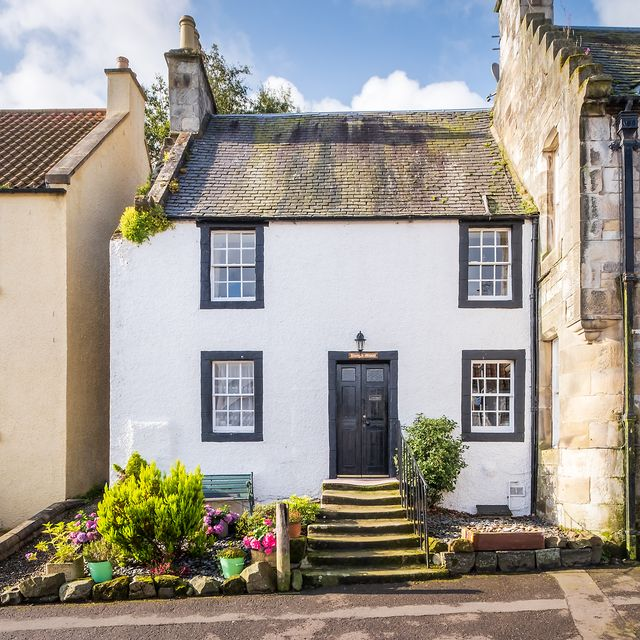 terraced home from the tv show outlander is for sale in scotland