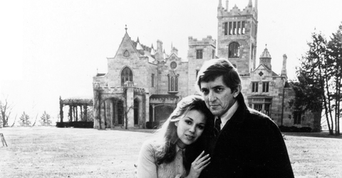 lyndhurst mansion in house of dark shadows 1970