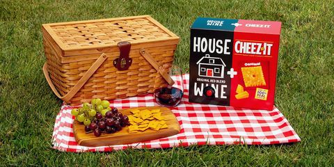 House Wine + Cheez-It box